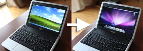 Dell Mini 9으로 애플 넷북 만들기
